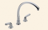 Waterfall Two Handle Kitchen Faucet