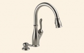 Leland Kitchen Single Handle Pull Down Faucet