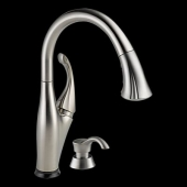Addison Single Handle Pull-Down Kitchen Faucet Featuring Touch2O