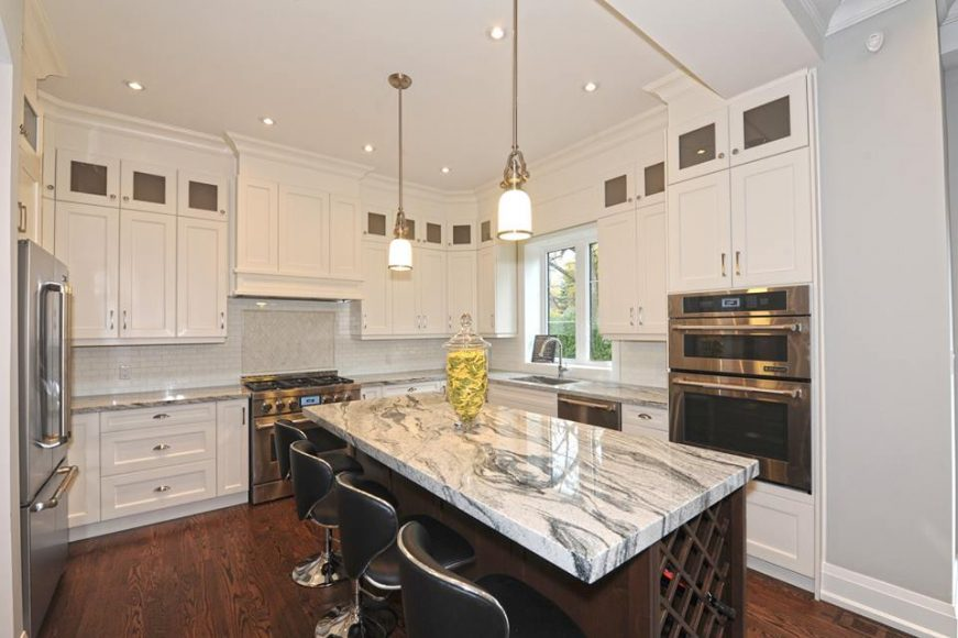 white kitchen cabinets mississauga white amp chestnut brown transitional kitchen design 28853